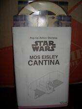 STAR WARS POTF MAIL AWAY POP UP CANTINA AT MOS EISLEY 3-D DISPLAY DIORAMA. MIP