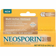 NEOSPORIN Pain Itch Scar Multi-Action First Aid Antibiotic Ointment 0.5oz 14.2g