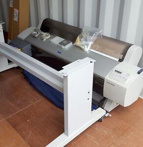 Epson Stylus Pro 9600 Large Format Printer Standard Paper Canvas Map Photo