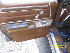 1977 MERCURY MARQUIS 4 door LEFT REAR DOOR TRIM PANEL OEM USED