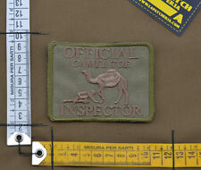 """Ricamata / Embroidered Patch """"Camel Toe"""" Coyote Tan with VELCRO® brand hook"""
