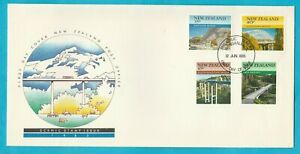 NZ New Zealand Scenic Stamp Issue First Day Cover 1985