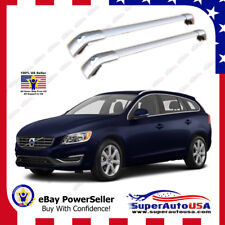 Sliver Top Roof Rack Fit 2012-17 VOLVO V60 Baggage Luggage Cross Bar Crossbar