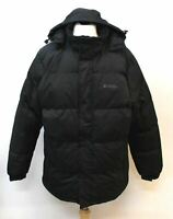 MOUNTAIN WAREHOUSE Men's Black Long Sleeve Hooded Quilter Jacket Size XL