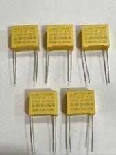 0.47UF (470NF) 275 VOLT AC CLASS X2 40/100/21 PACK OF 5