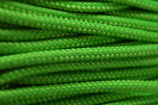 Neon Green - 425 Paracord Rope 3 strand Cord - 100 Feet