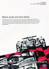2011 Audi TDI R15 Race Car - Original Advertisement Print Art Car Ad H59