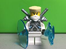 NEW LEGO Ninjago Zane Titanium MiniFigure (Set 70728) AUTHENTIC White NINJA