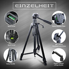 Professional Tripod Stand for Camera DSLR Camcorder Tilt Pan Head CANON NIK