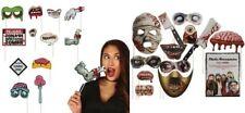 Halloween Fotostand Requisiten Rahmen Slefie Hexe Totenkopf Party Zombie Deko