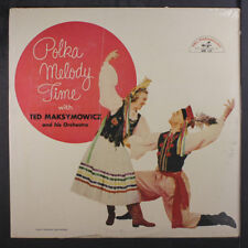 TED MAKSYMOWICZ: Polka Melody Time LP Sealed Easy Listening