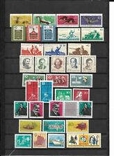 East-Germany/GDR/DDR: All stamps of 1962 in a year set complete, MNH