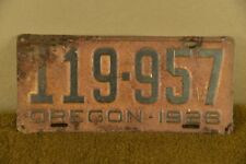 1926 Oregon License Plate Ford Buick Dodge Brothers Chevy