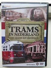 Trams in Nederland - Van stoom tot electrisch (3DVD box) nieuw in  seal