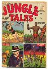 Jungle Tales #6 1955- Jann of the Jungle G/VG