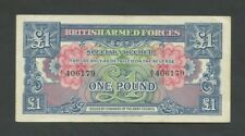 More details for british armed forces £1 1946  1st series about vf  banknotes
