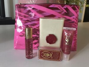 MOR ITALIAN BLOOD ORANGE,MILLED SOAP,LIP SILK,perfume Oil,lip Nectar,make UP BAG