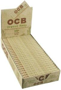 OCB Organic Hemp Rolling Papers Single Wide (24 Booklets)
