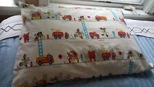 Vtg Disney Mickey Mouse Pluto Goofy Firetruck #7 Pillow Case American Home, Rare