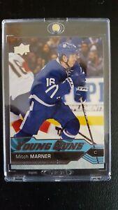 2016-17 Upper Deck Young Guns Mitch Marner #468 RC Rookie, Leafs!