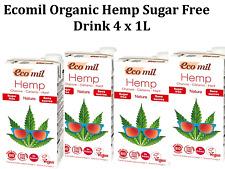 4 x 1L ECOMIL Organic Hemp Milk ( Total 4L )