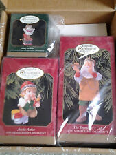 HALLMARK 1999 MEMBERSHIP ORNAMENT KIT with 3 TOY ORNAMENTS not sold in stores!