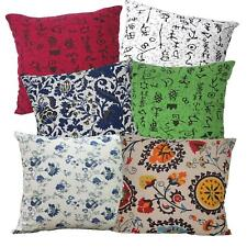 Ah4 Cotton Cushion Cover*Text Rose Throw Oblong Pillow Case*Custom Size
