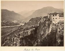 Suisse, Kiebach bei Bözen Vintage albumen print.  Tirage albuminé  20x25