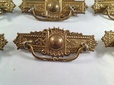 Brass Drawer furniture handle pulls with screws Made in India Good Condition
