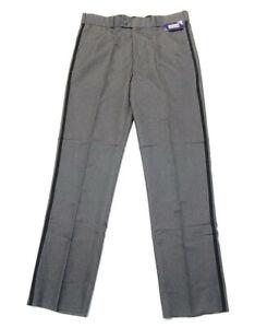 National Patrol Pants Unhemmed Size 40R Security Uniform Heather Gray Style 3000