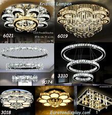 LED Deckenleuchte Kristall Fernbedienung LED Pendelleuchte Beleuchtung dimmbarE2