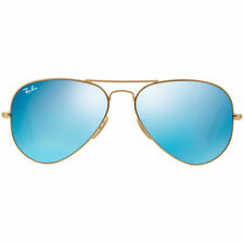 Ray Ban Sonnenbrille Aviator Blau Flash Lenses Standard