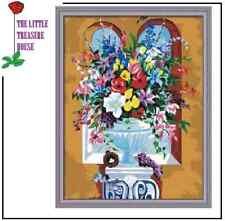 Beautiful Bouquet DIY Oil Painting Kit - Paint by numbers with frame 40cm X 50cm
