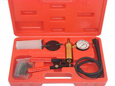 Bleeder Vacuum Test & Brake Bleeder kit