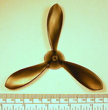 "Propeller for electric or rubber power - 125mm (5"")dia. - black nylon 3 blade"