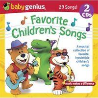 Baby Genius : Favorite Childrens Songs CD
