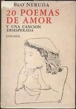 Pablo Neruda Book 20 Poemas De Amor Soldi Illustrations 1972