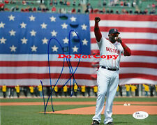 DAVID ORTIZ RED SOX AUTOGRAPHED SIGNED PHOTO 8X10 REPRINT