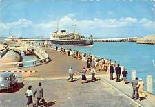 """Belgium Oostende: The Mailboat """"Ostend-Dover"""" car, ship, pier, parade"""