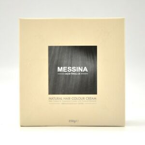 Messina natural hair colour cream Black Australia made & owned