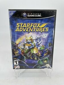 Starfox Adventures Nintendo GameCube - CASE AND MANUAL ONLY