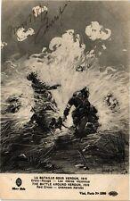 CPA La Bataille sous Verdun - Croix-Rouge (241011)