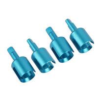 Aluminum TT-02 Gearbox Joint Cup For Tamiya TT-01 TT-02 54477 (Red)