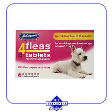 Johnsons 4 Fleas for Puppies - 6 tablets