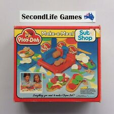 PLAY-DOH: Make-a-Meal - SUB SHOP ~ Kenner (1989). Complete & Unused. H