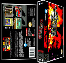Ignition Factor - SNES Reproduction Art Case/Box No Game.