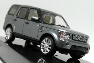 Ixo 1/43 Scale Land Rover Discovery 4 TDV6 HSE Indus Silver Diecast Model Car