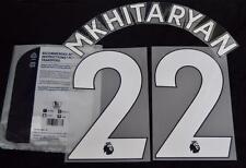 Manchester United Mkitaryan 22 Premier League Football Shirt Name Set 2017/18