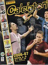 Album figurine calciatori Panini 2006-07 con 705 figurine applicate