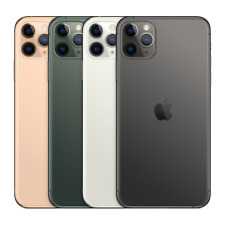 Apple iPhone 11 Pro Max 64/256/512GB Green Space Gray Silver Gold GSM Unlocked